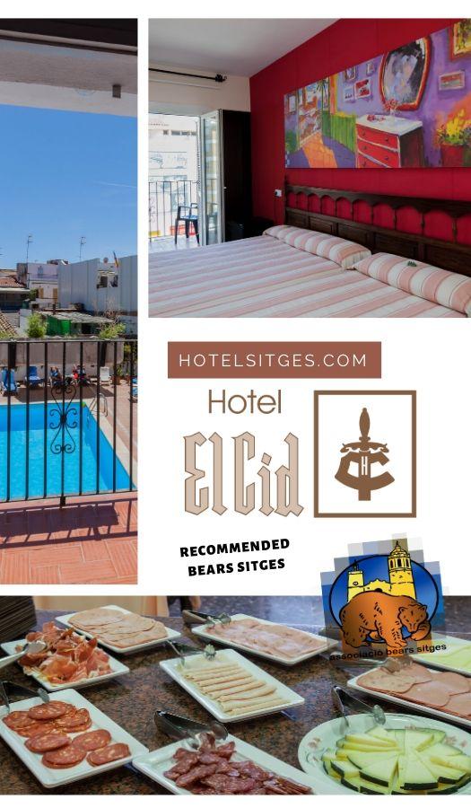 H Hotel el Cid en Bears Sitges